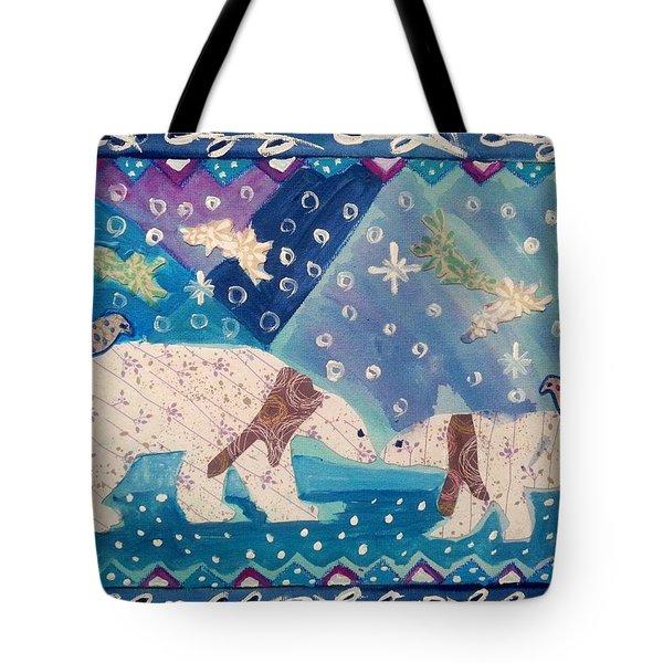 Polar Love Tote Bag