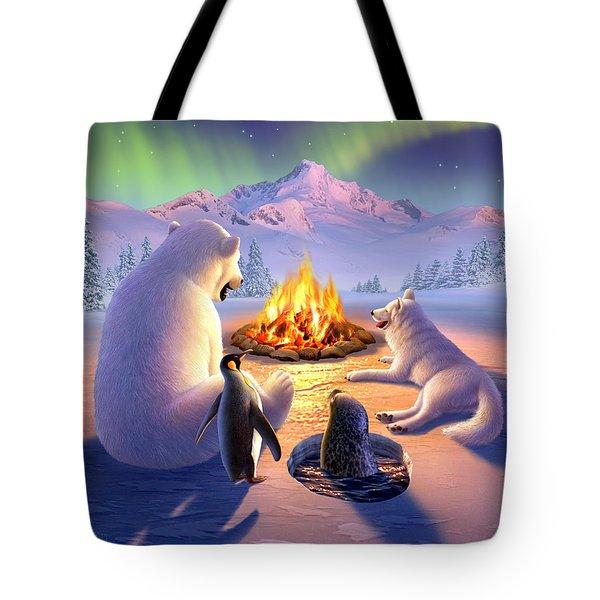 Polar Pals Tote Bag