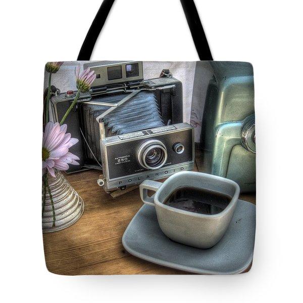 Polaroid Perceptions Tote Bag