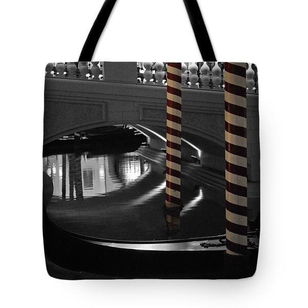 Tote Bag featuring the photograph Poles by Maggy Marsh