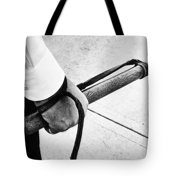 Police Nightstick Tote Bag by Granger