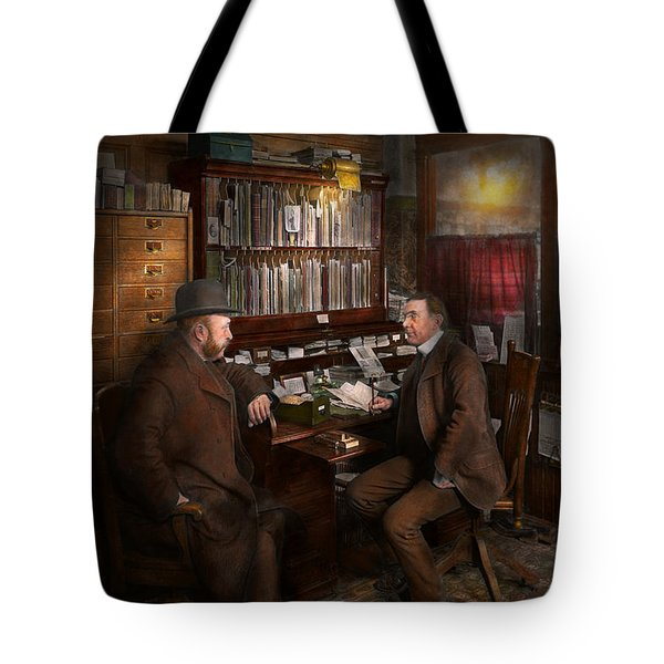 Police - The Private Eye - 1902  Tote Bag