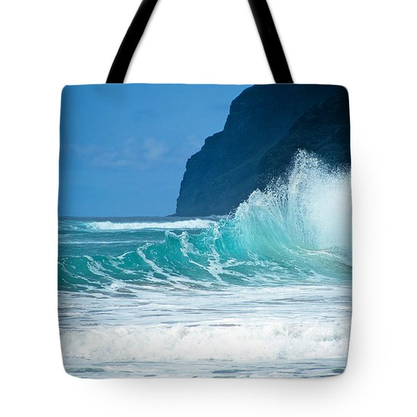 Polihale Beach  Tote Bag by Kevin Smith