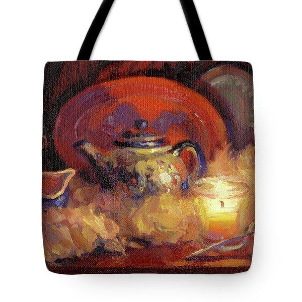 Polish Pottery  Tote Bag