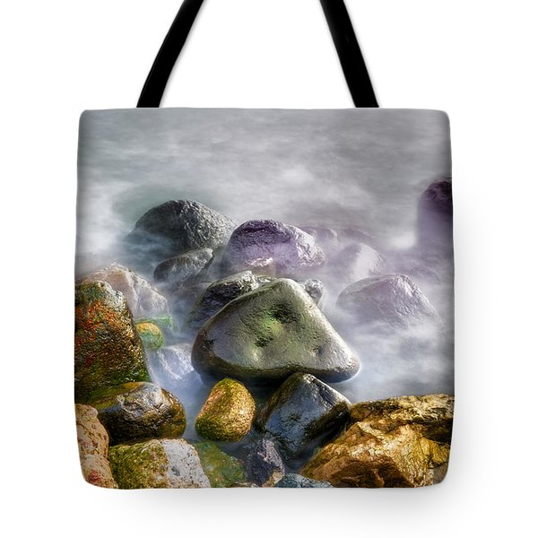 Polished Rocks Tote Bag