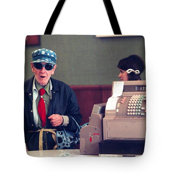 Polka Dots And Ice Cream Tote Bag