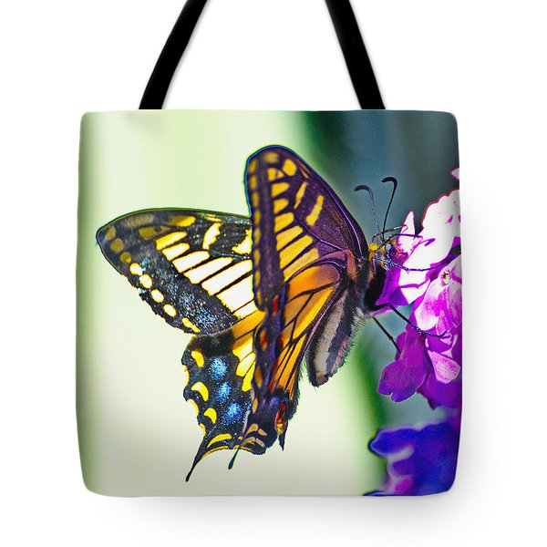 Pollanstimg Butterfly Tote Bag