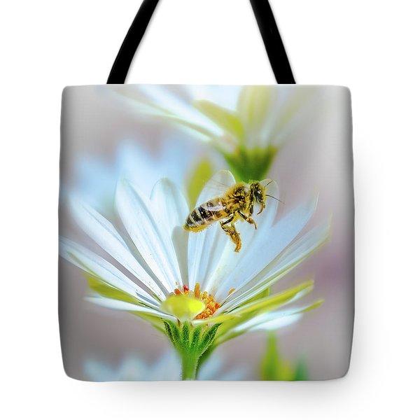 Pollinator Tote Bag by Mark Dunton