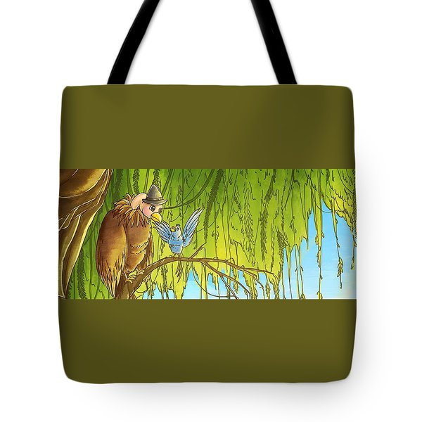Polly And Her Friend, Elfie Tote Bag