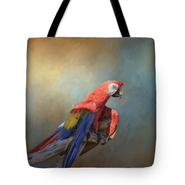 Polly Want A Cracker Tote Bag