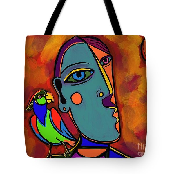 Polly's Cracker Tote Bag
