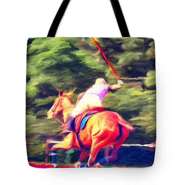 Polo Game 2 Tote Bag