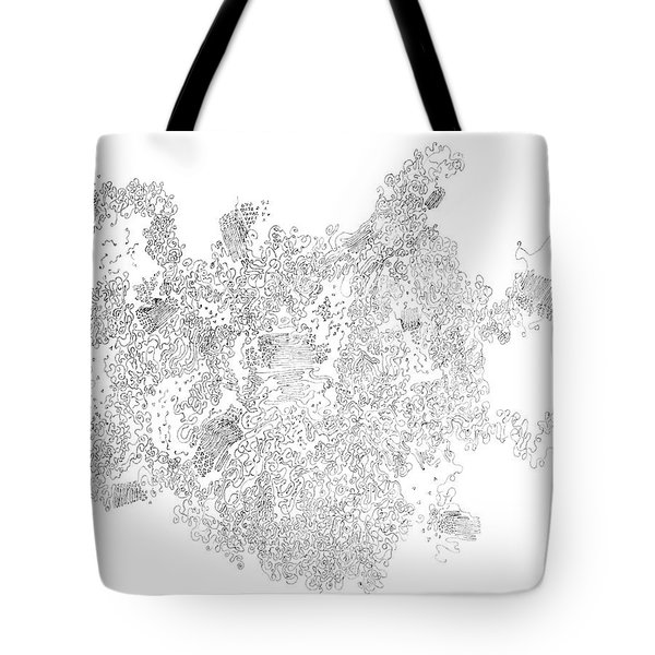 Polymer Crystallization With Modifiers Tote Bag