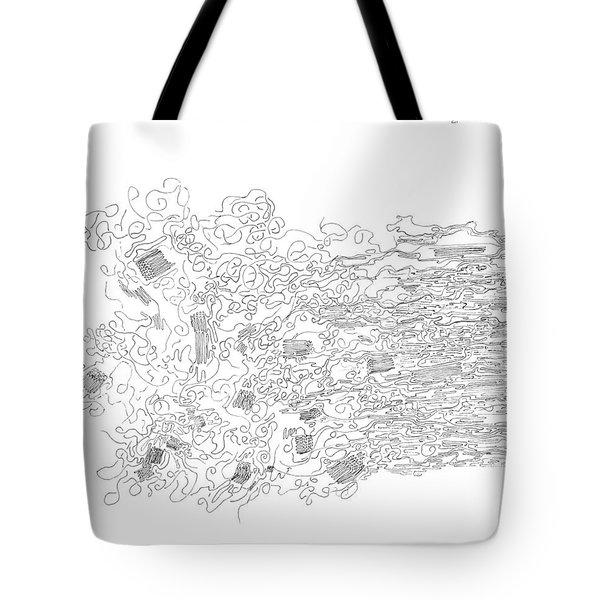 Polymer Fiber Spinning Tote Bag by Regina Valluzzi