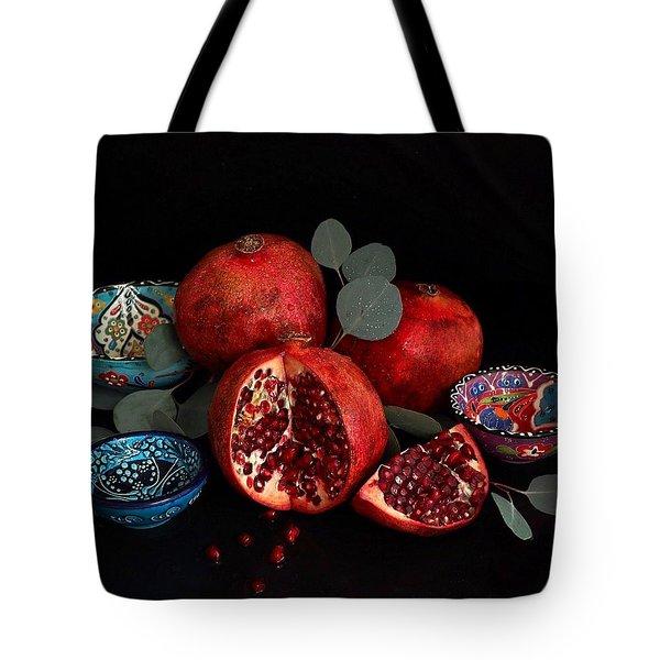 Pomegranate Power Tote Bag