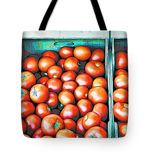 Pomme D'amour Tote Bag