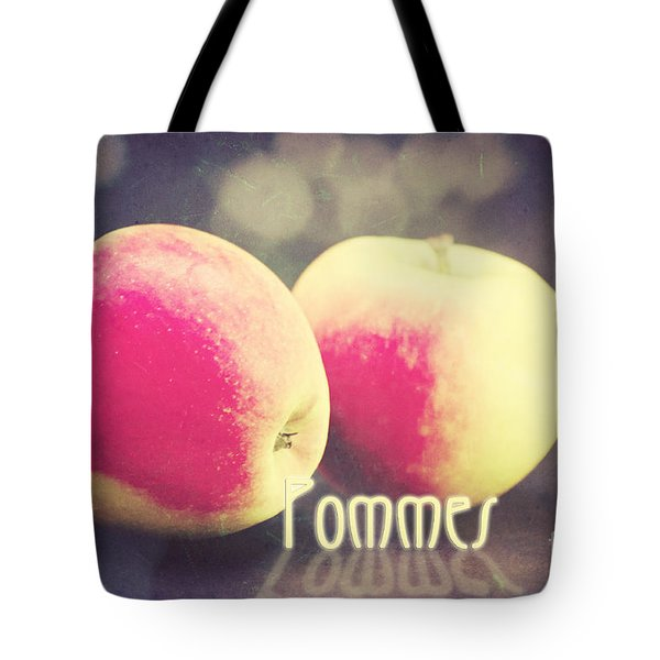 Pommes Tote Bag by Angela Doelling AD DESIGN Photo and PhotoArt