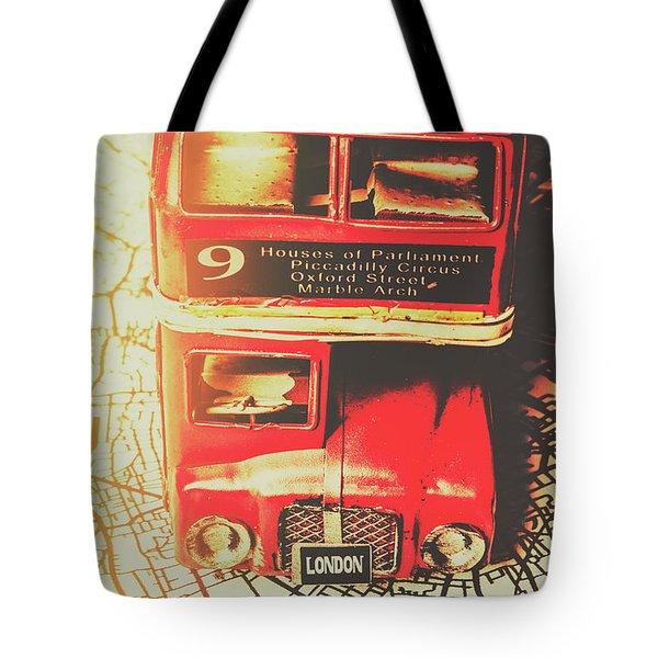 Pommy Promenade Tote Bag