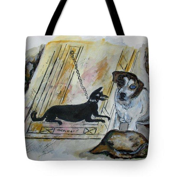 Pompeii Cane Tote Bag