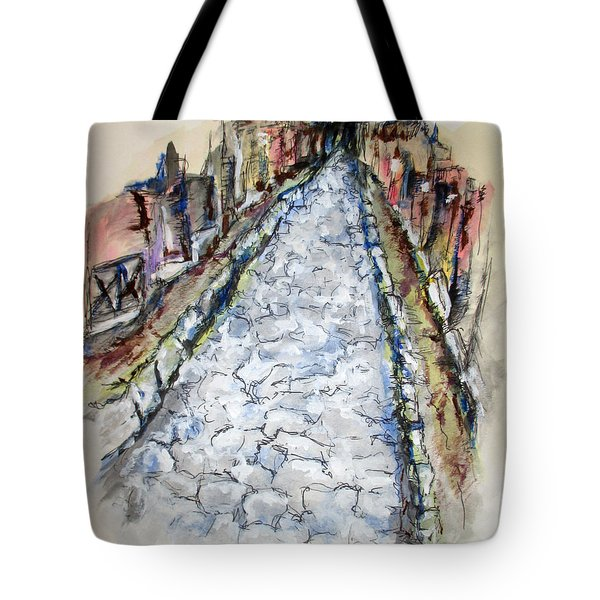 Pompeii Road Tote Bag