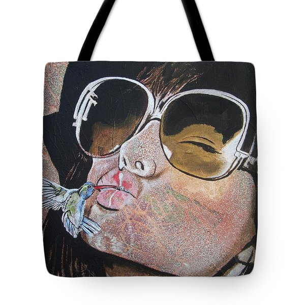 Tote Bag featuring the painting Ponce De Leon by Stuart Engel