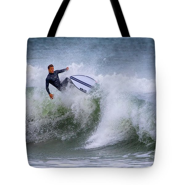 Tote Bag featuring the photograph Ponce Surf 2017 by Deborah Benoit