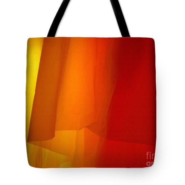 Poncho Abstract 5 Tote Bag
