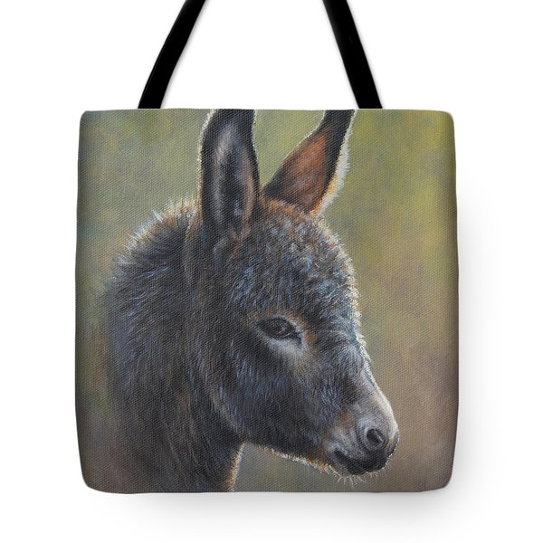 Tote Bag featuring the painting Poncho by Kim Lockman