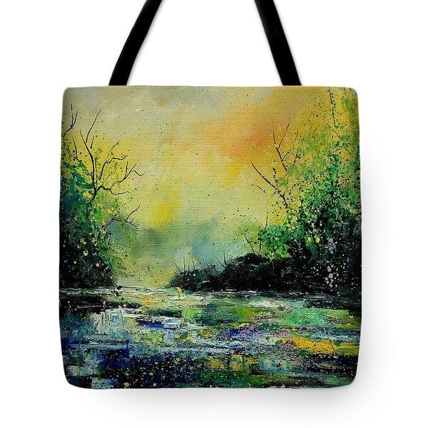 Pond 459060 Tote Bag by Pol Ledent
