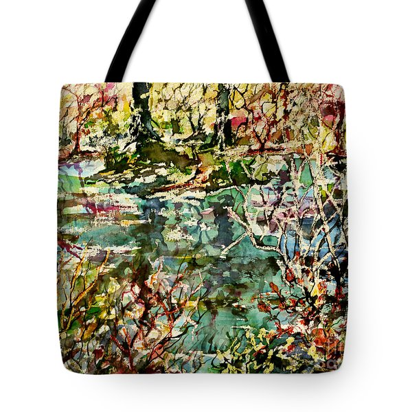 Pond And Beyond Tote Bag