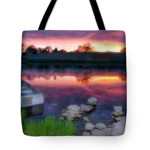 Pond Dreams 9 Tote Bag