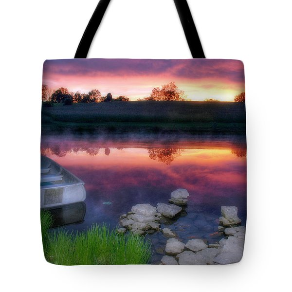 Pond Dreams 9 Tote Bag