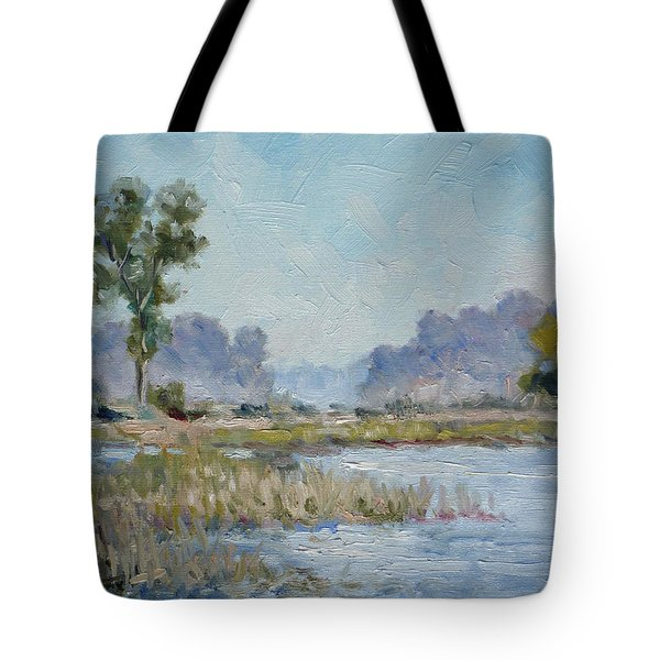 Pond In The Woods 1 Tote Bag