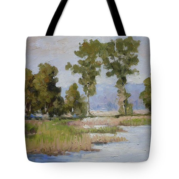 Pond In The Woods 2 Tote Bag