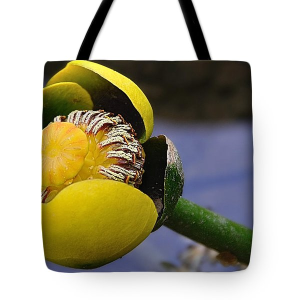 Pond Lily In Bloom Tote Bag