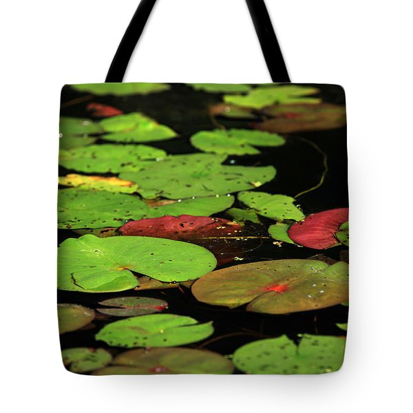 Pond Pads Tote Bag by Karol Livote