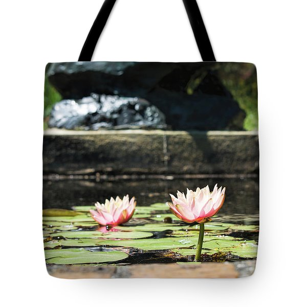 Pond Palette Tote Bag