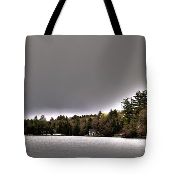 Pond Panorama Tote Bag by David Patterson