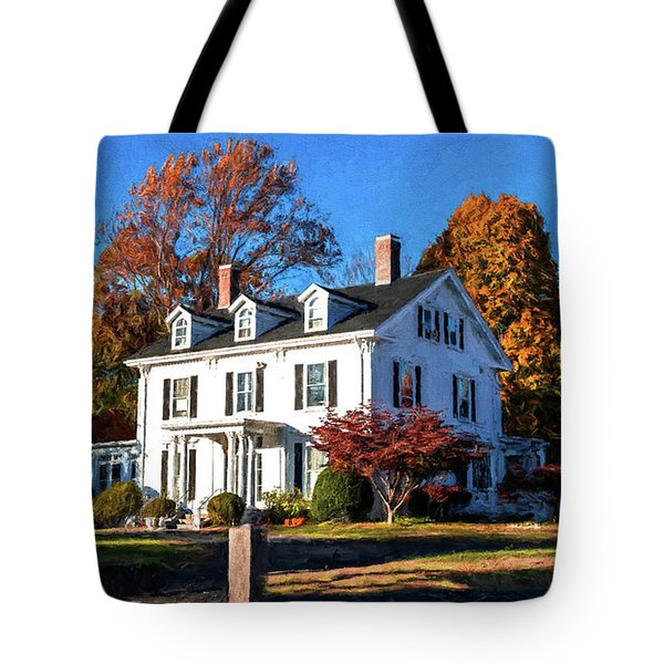 Pond Street Life In Jp Tote Bag