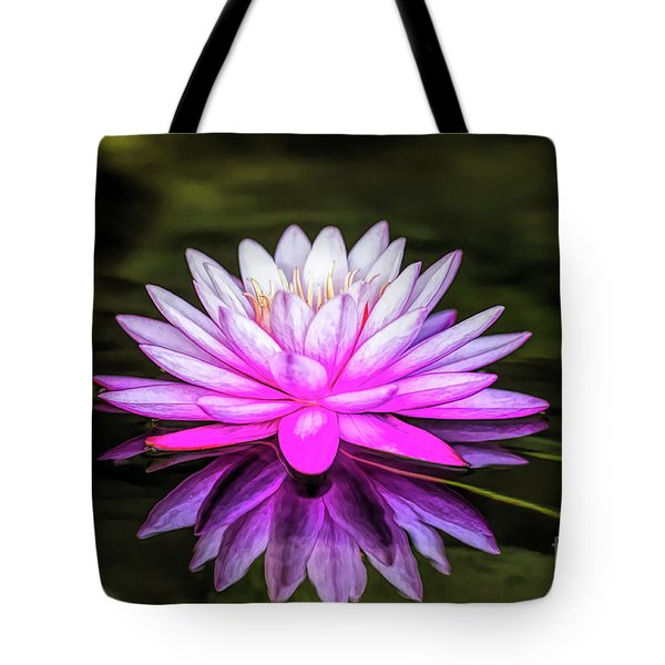 Pond Water Lily Tote Bag