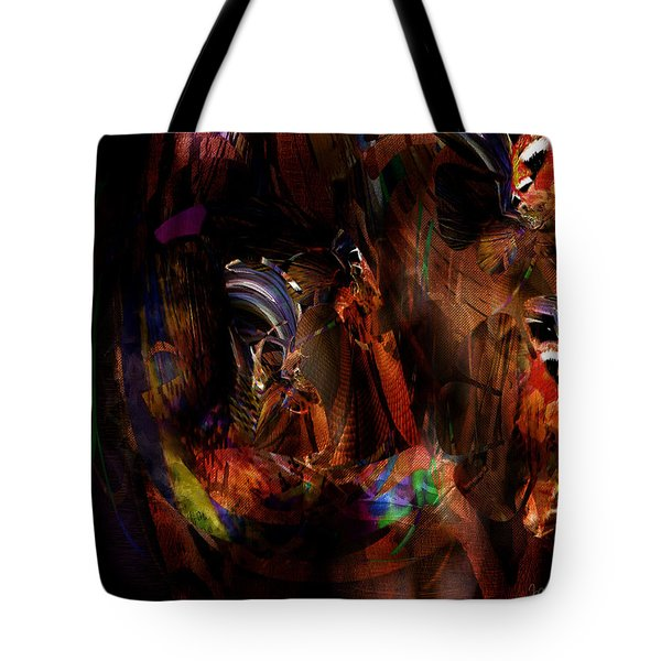 Ponder The Deep Mysteries Of Existence Tote Bag