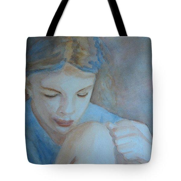 Pondering Tote Bag by Jenny Armitage