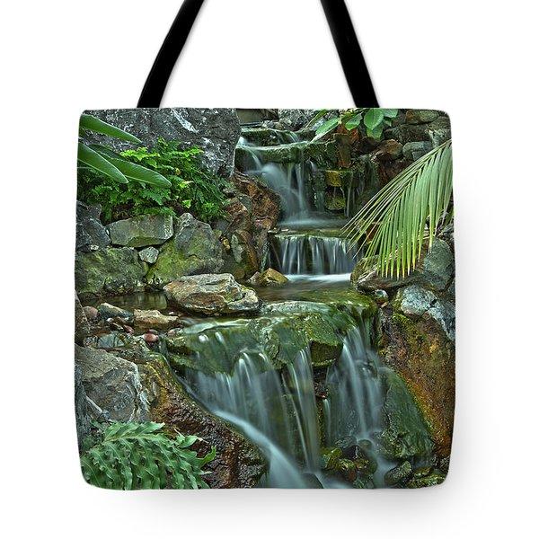 Pond@muttart Tote Bag