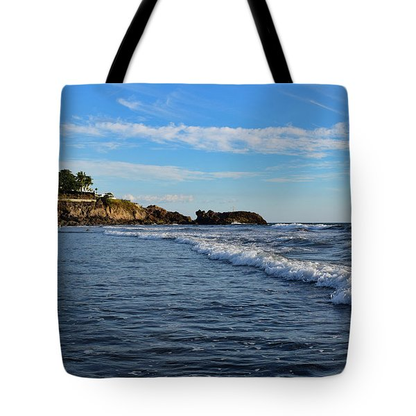 Poneloya Beach Before Sunset Tote Bag