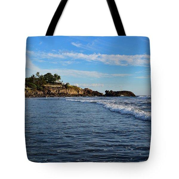 Poneloya Beach Before Sunset Tote Bag