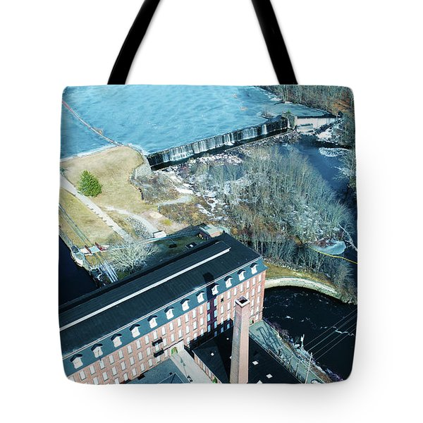 Ponemah Mill And Dam Tote Bag