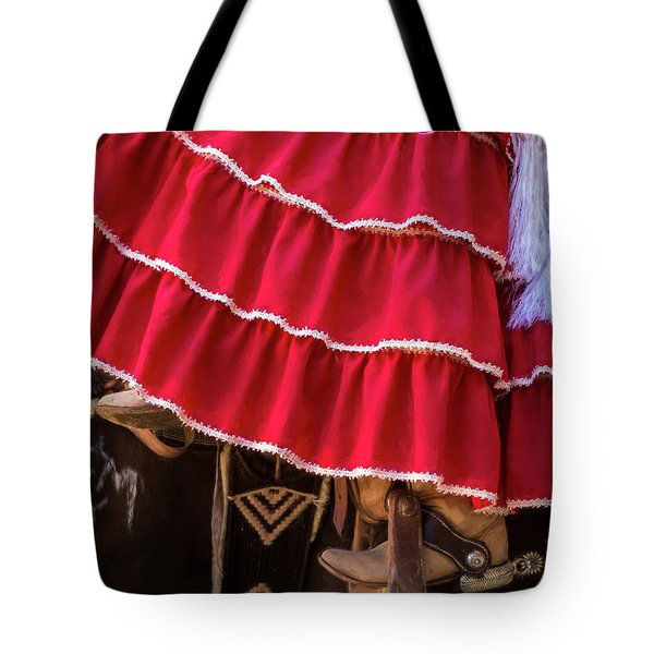 Ponies And Petticoats Tote Bag