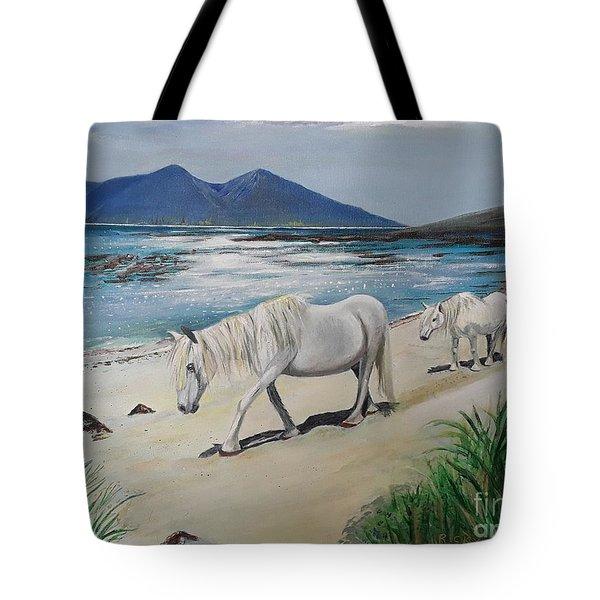Ponies Of Muck- Painting Tote Bag