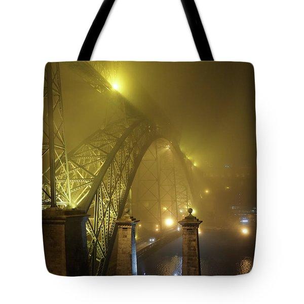 Ponte D Luis I Tote Bag