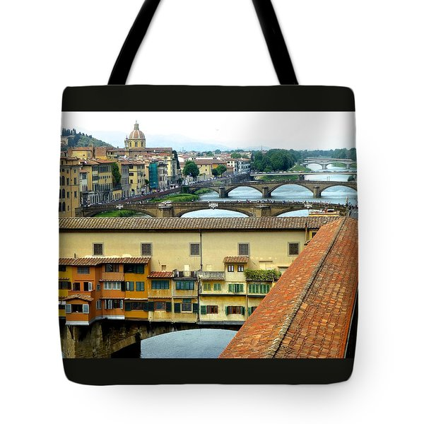 Ponte Veccio And Beyond Tote Bag